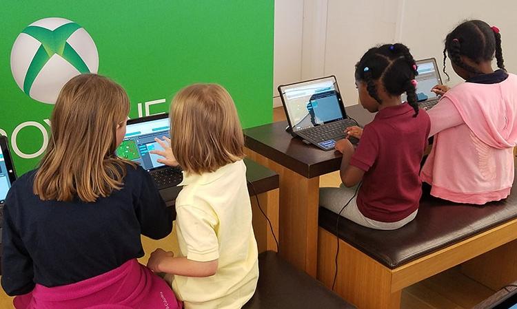4Points Academy's Microsoft field trip