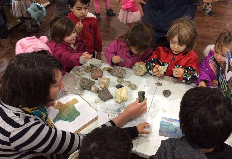 Geologists rock on at Copernicus.