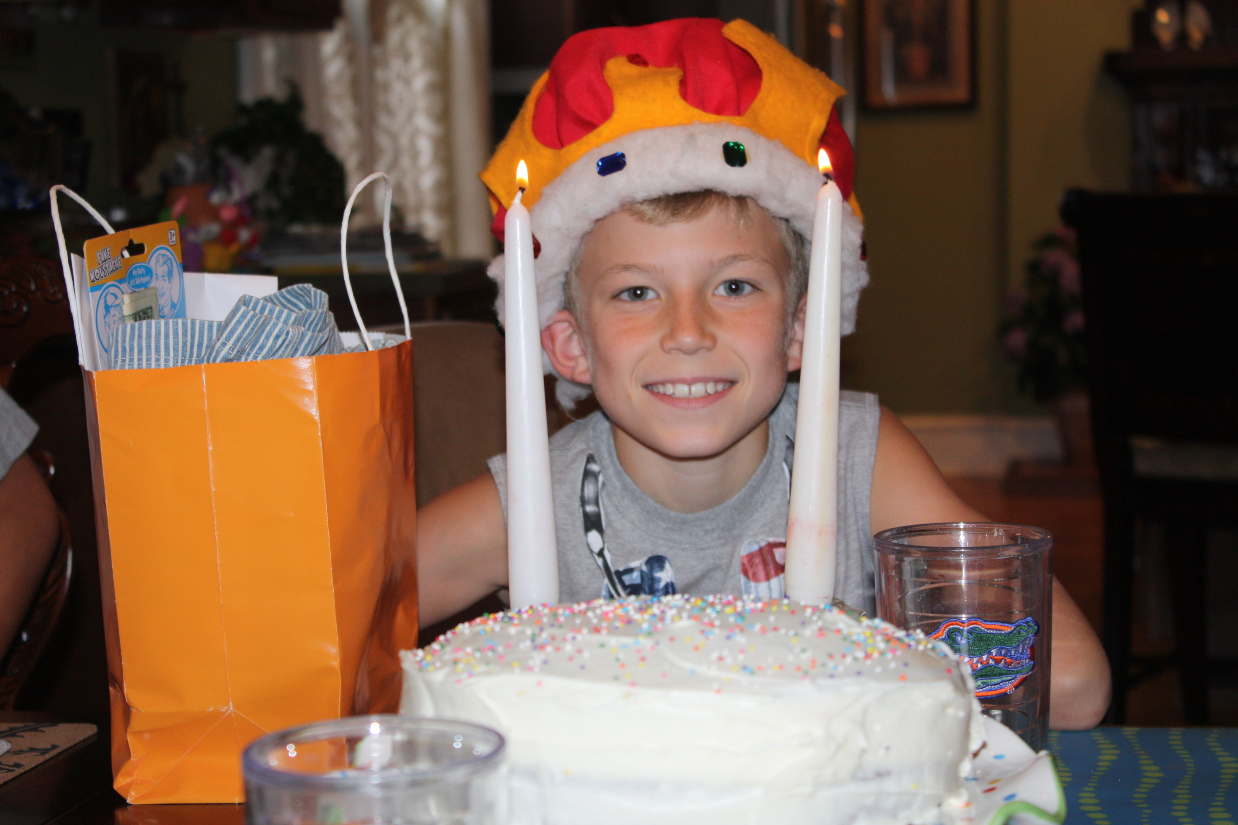 NATE ON HIS 11TH BIRTHDAY