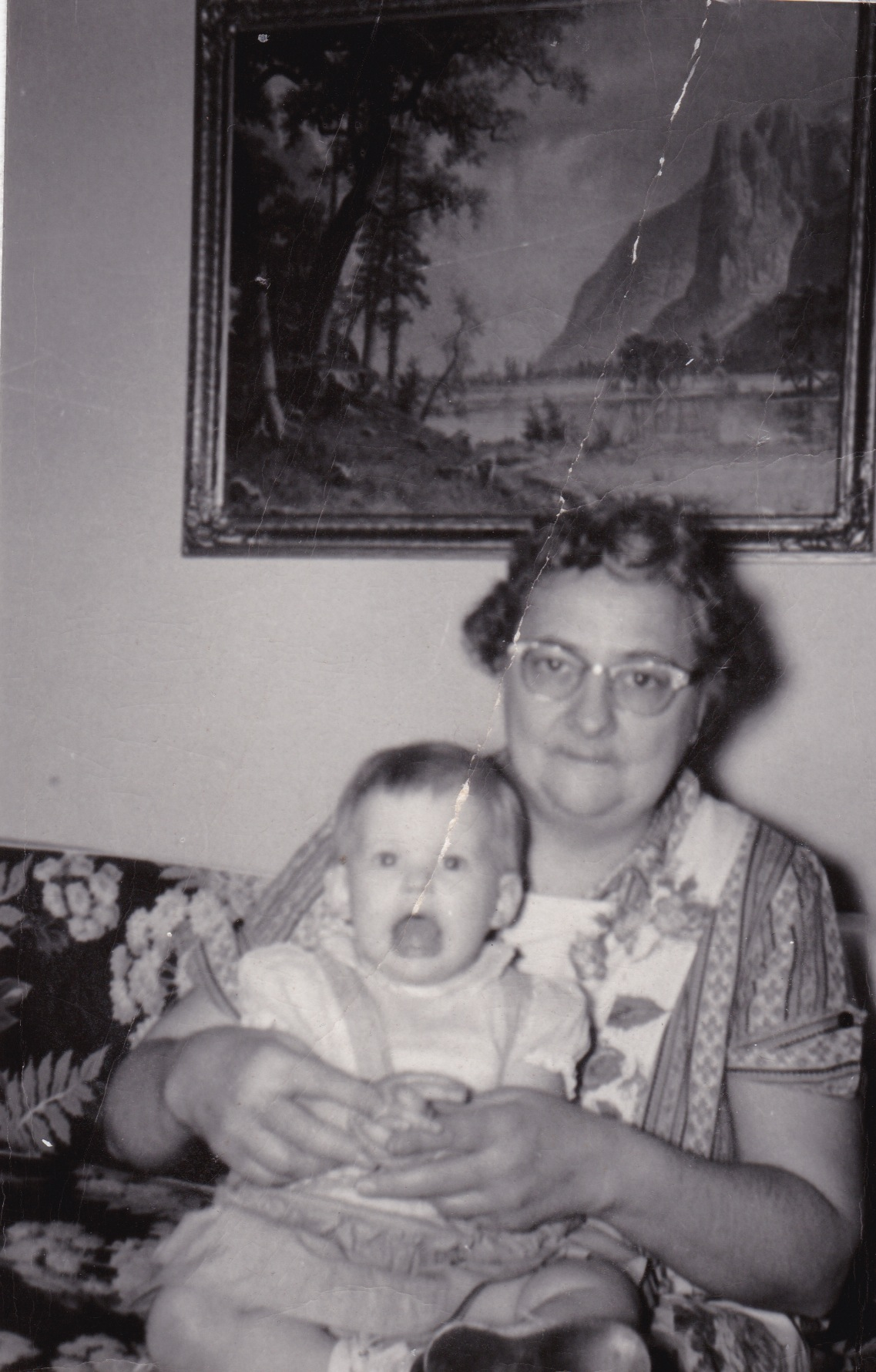MY GRANDMA AND ME, 1957