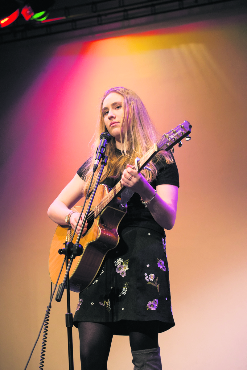 Max Weeden wowed the audience with his guitar playing to win Monmouth's Got Talent. Max has regularly performed solos in school and as lead guitar in his old band but Monmouth Festival will be his biggest audience to date.