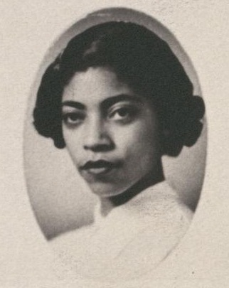 Bradford in her 1954 Senior Law Composite.