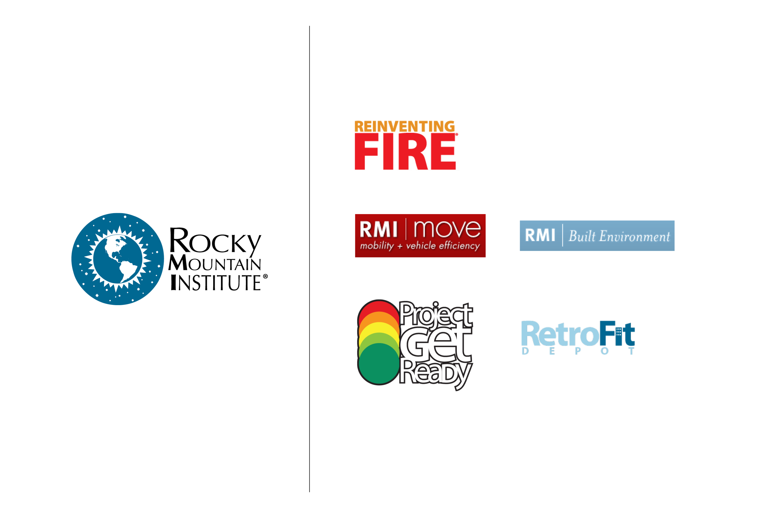 Original RMI and RMI initiative logos.