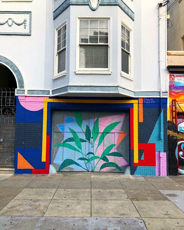 San Fran Disco 😍 · · · #glordfoundsanfranbound #sf #color #colour #mural