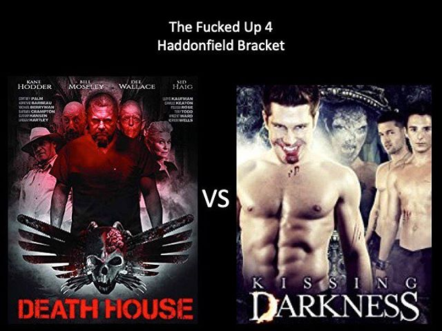FINAL 4 MOONGOONS!! WHICH IS WORSE?! Vote in the comments below. Death House vs Kissing Darkness! Keep voting Moongoons! #deathhouse #kissingdarkness #fuckedupfinalfour #haddonfieldbracket #horriblehorrorpodcast #horrorpodcast #moongoons