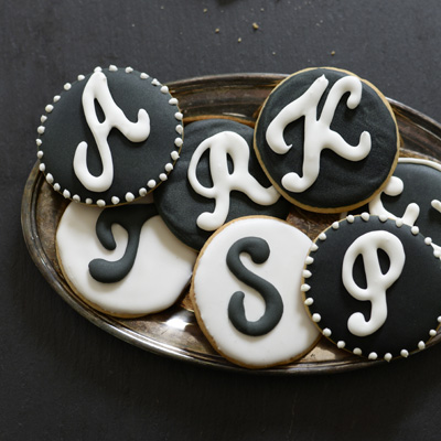 Mongrammed Cookies