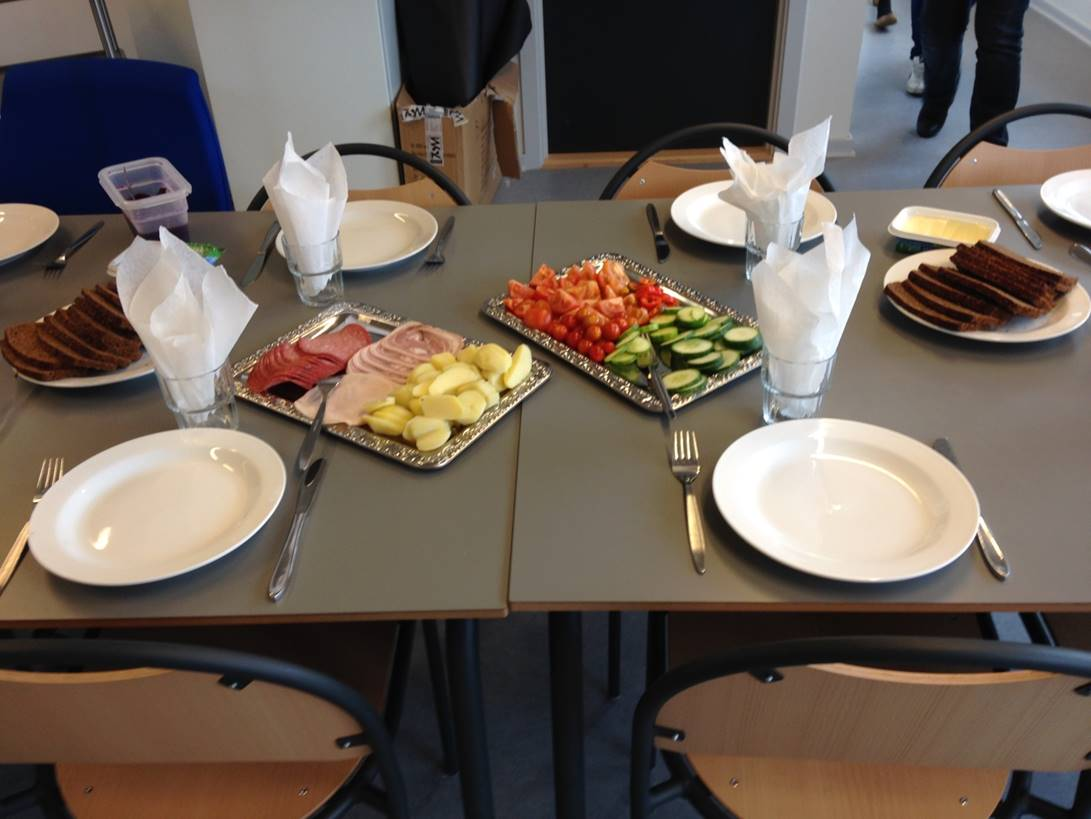 Lunch, Danish Prison
