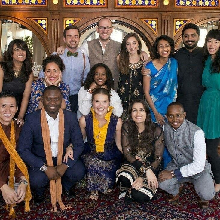 Kassaga with the Acumen Global Fellows and staff in New York, October 2015