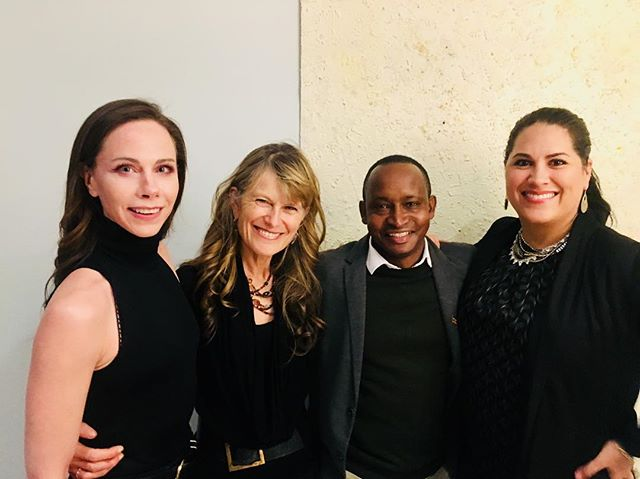 What a lucky man I am that in one evening I get the amazing wisdom from 3 of the most powerful ladies in social entrepreneurship and leadership! @sabrinadupre @barbaritabush @jnovogratz! It's your fault! @teachforuganda vision is rooted in the incredible mentorship I received as a fellow at @globalhealthcorps and @acumenorg! Forever grateful for for my training and mentorship!