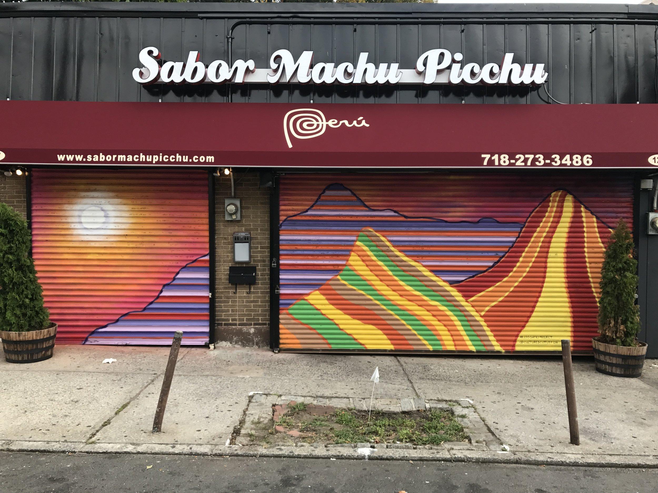 100 Gates Project  -- Staten Island expansion, Sabor Machu Picchu,Staten Island, NYC. 2017