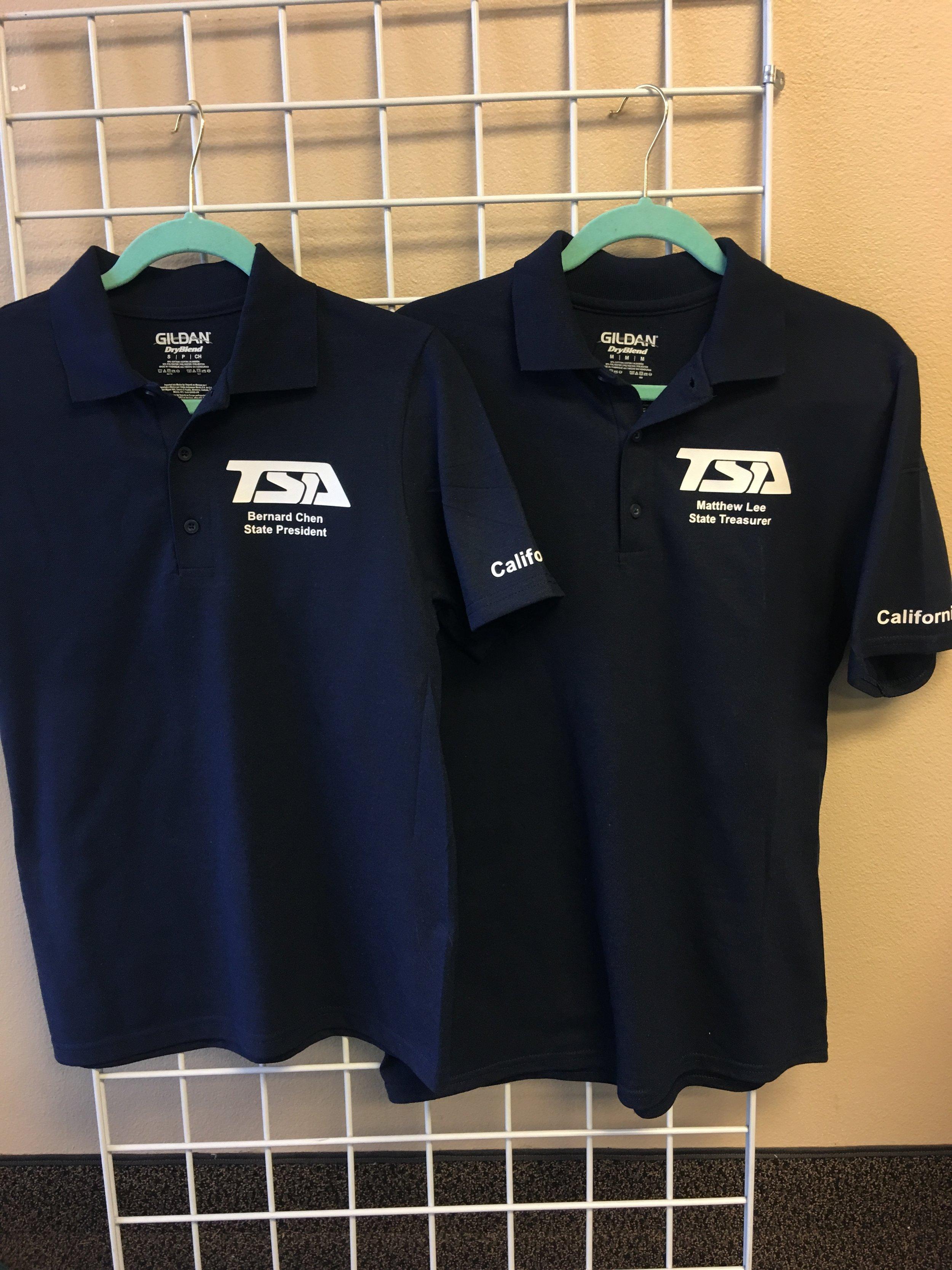 TSA Custom Polo Shirts