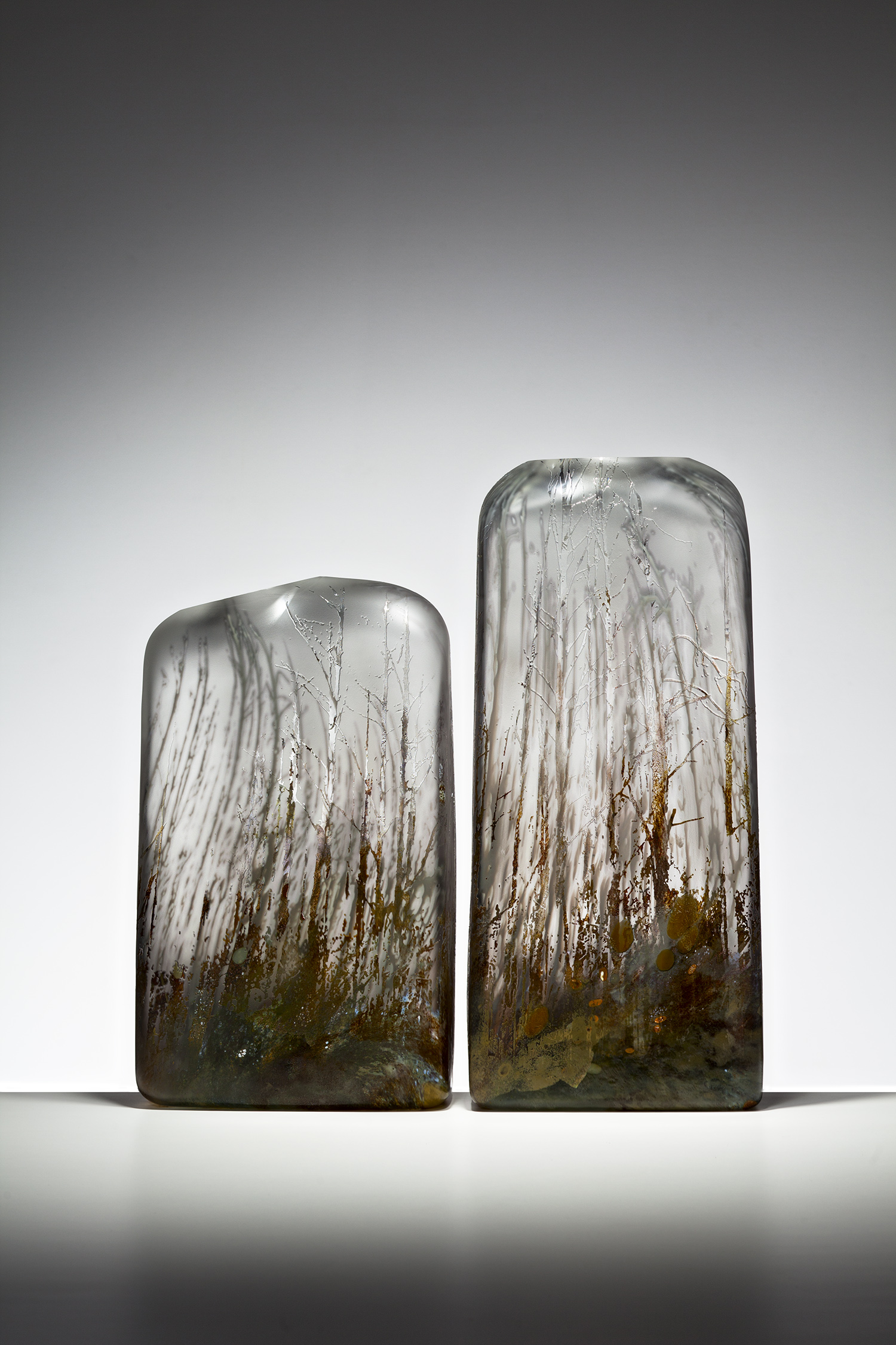 """Ghost Trees"" 2010 (Graal technique) H530mm x L500mm x W100mm"