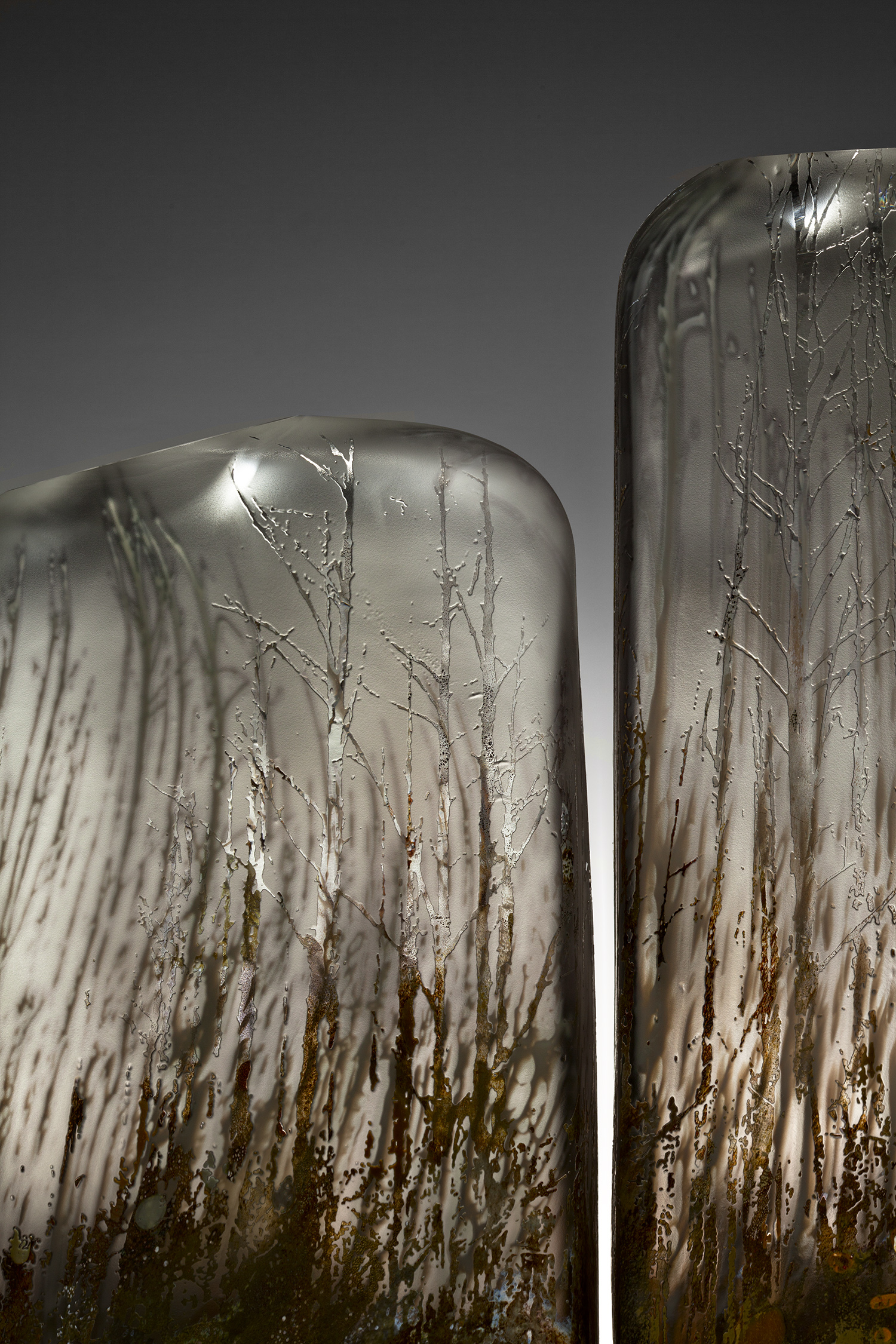 """""""Ghost Trees"""" detail"""