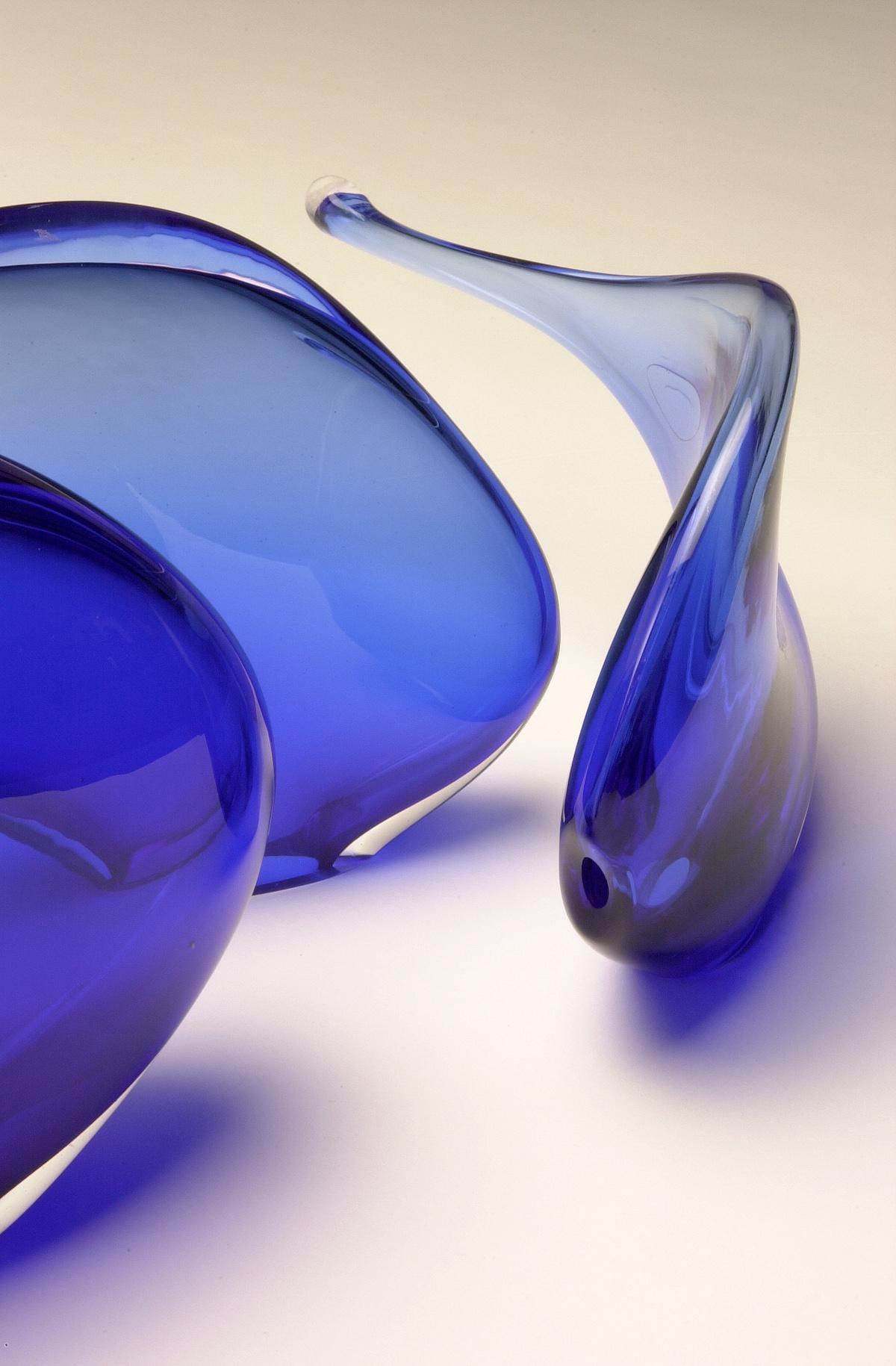 """""""Fish Forms - Cobolt blue"""" 2003"""