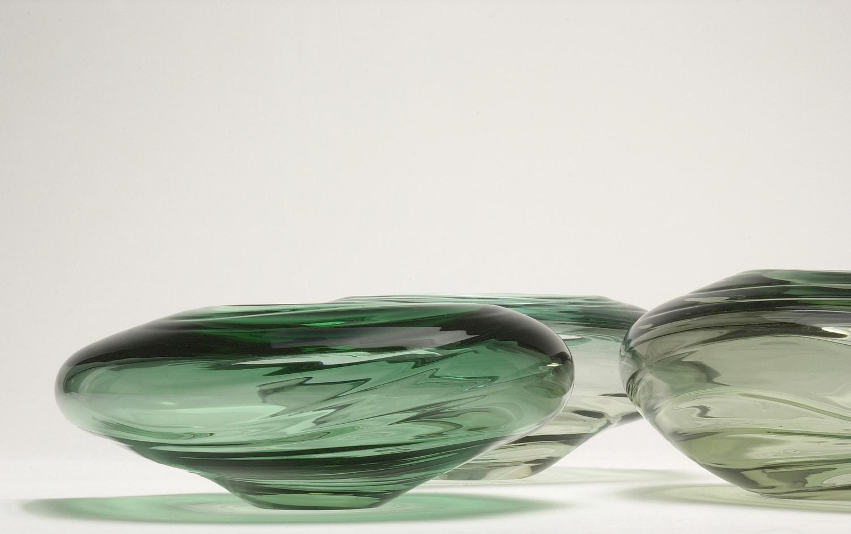 """Water Form - Tourmaline"" 2003 H250mm x W350mm x D350mm"