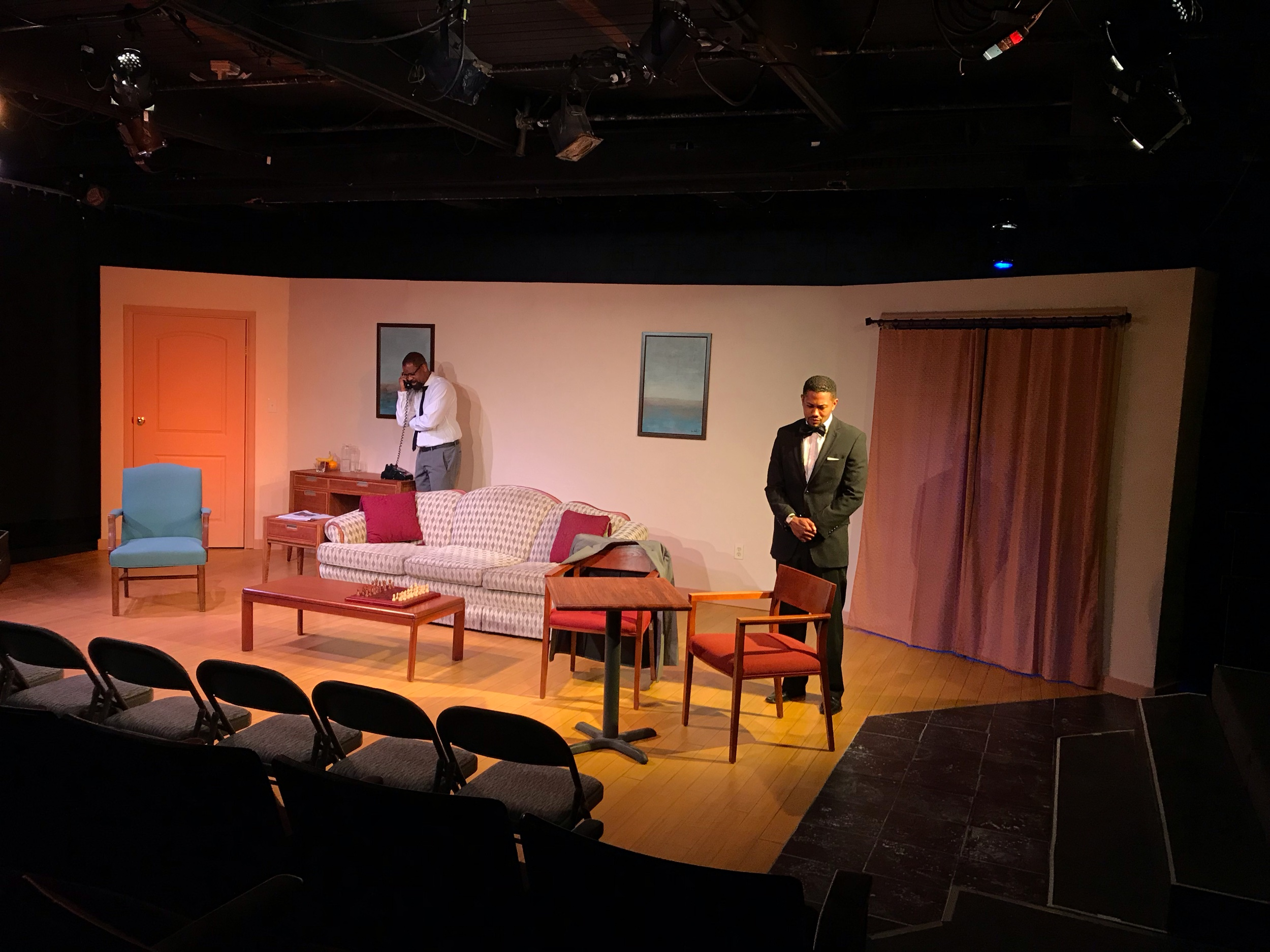 The Meeting at the Zephyr Theatre, May 19th, 2019.  Directed by Bill Cobbs  Produced by Bechir Sylvain  Lighting by Brandin Bruce  Production Manager: Katy Jacoby