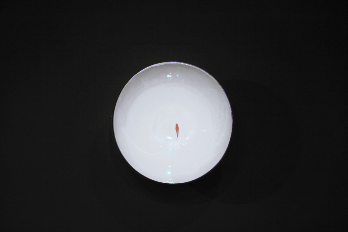 Video on the Ceramic Bowl  18.5H 18.5W 6.5D inch