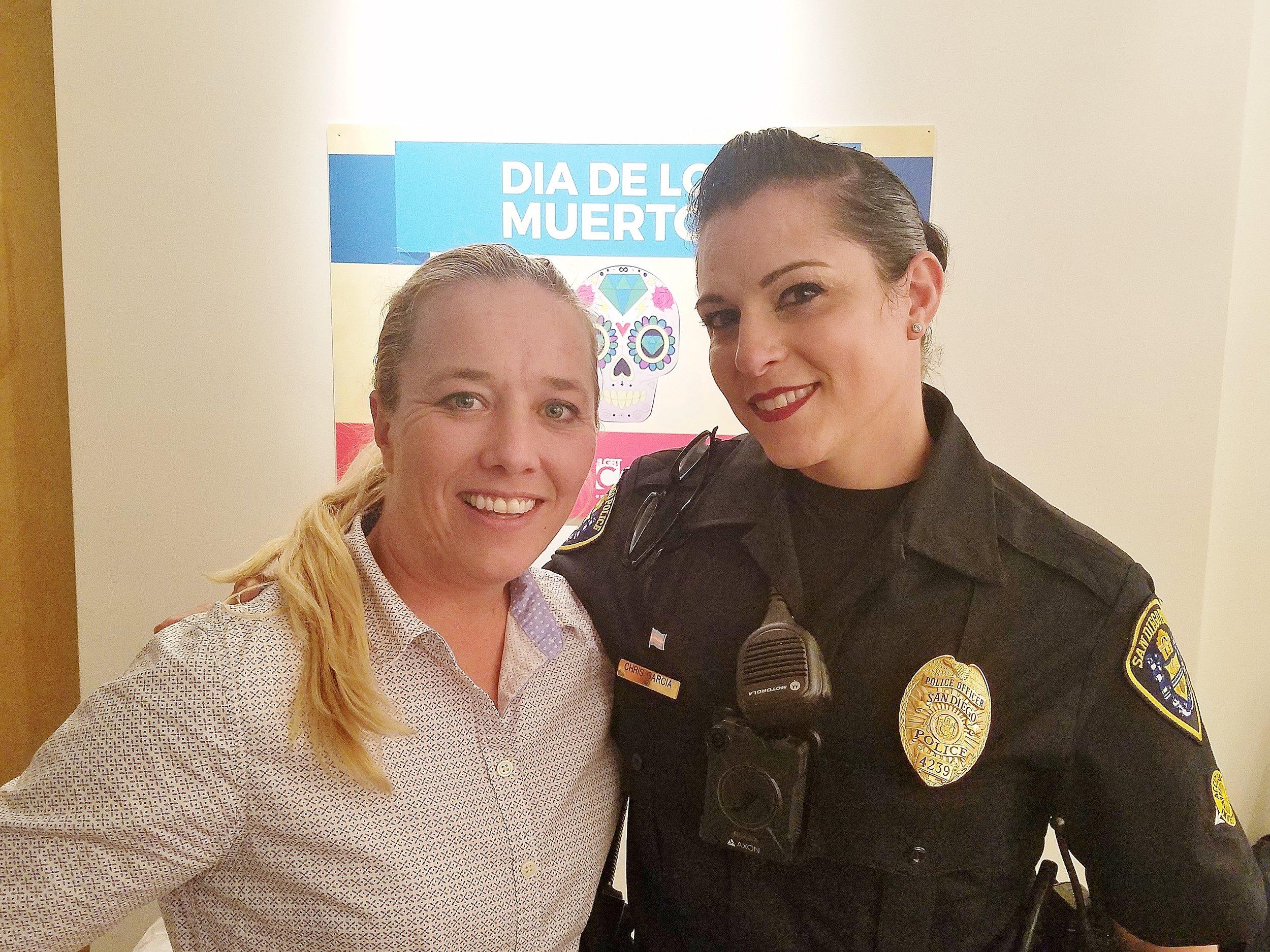 Officer Chris Garcia Marlene Klarborg Larsen Therapy 4 LGBT.jpg