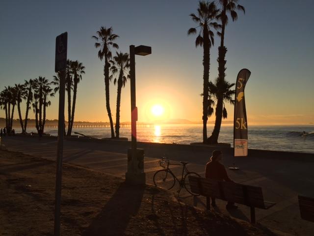 Sunrise at Ventura Beach