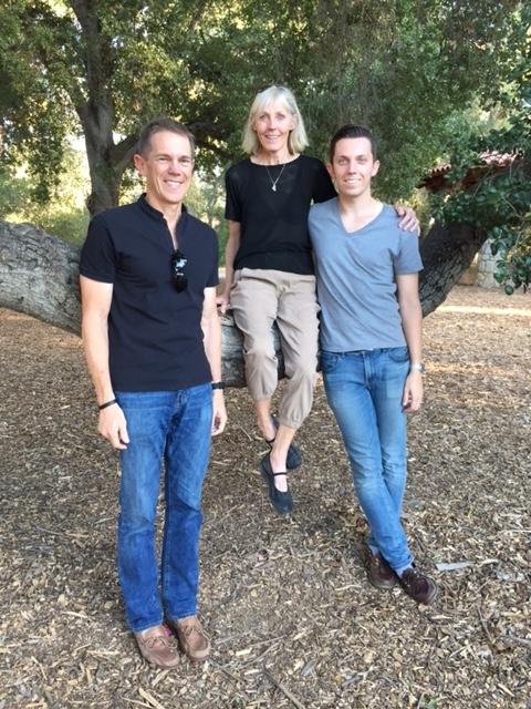Doug, Pat and Alex: Ojai, California