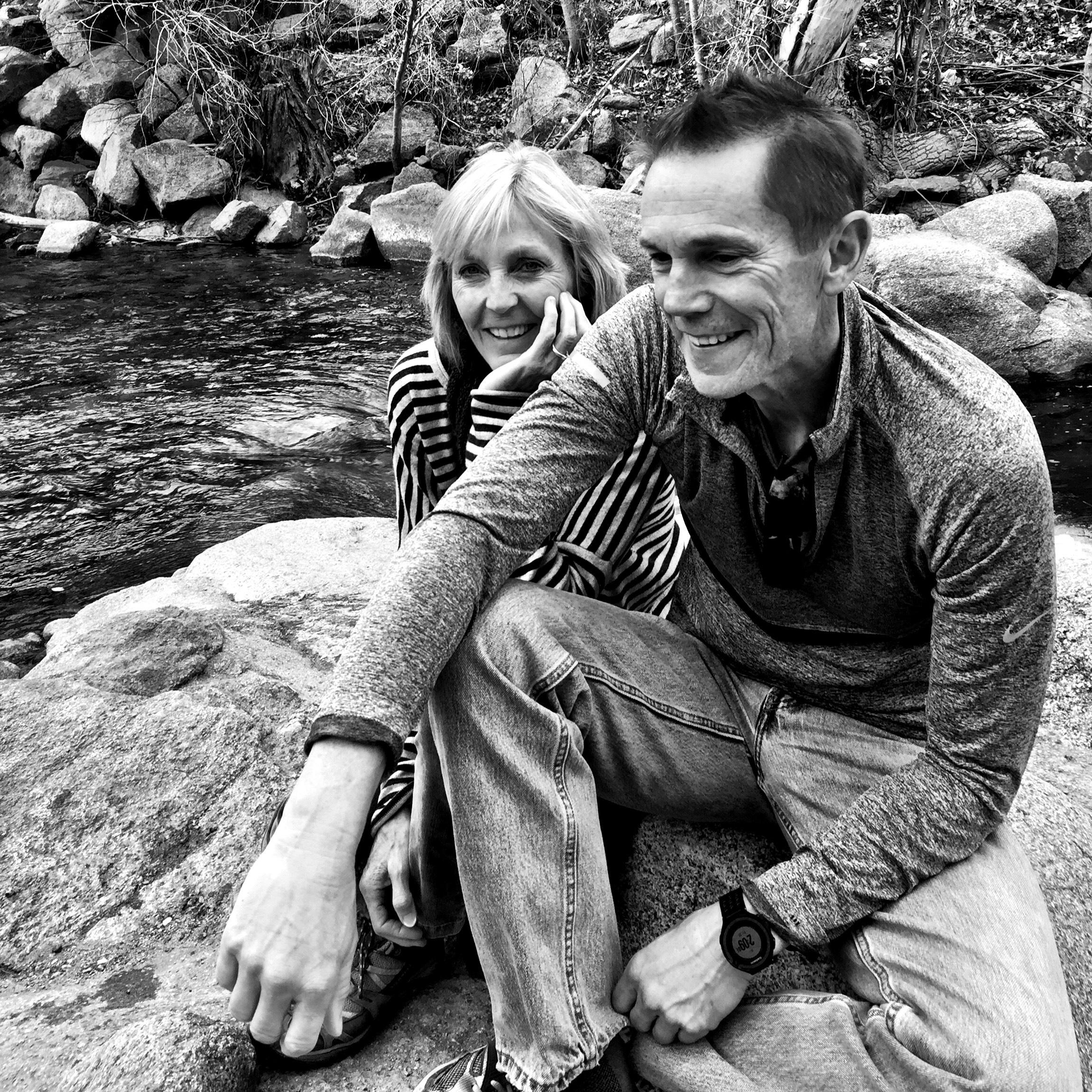 Doug and me at Boulder Creek c. 2016