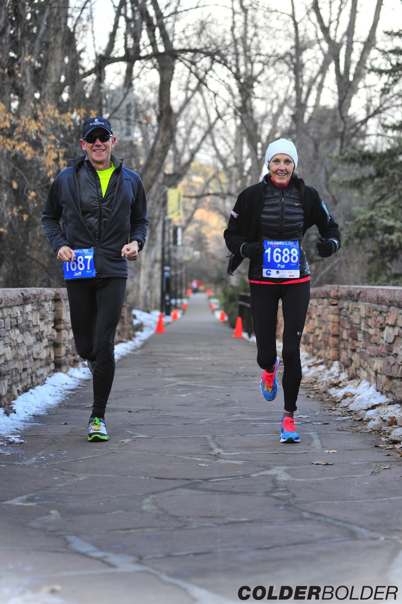 I ran for many years, then Doug started running, occasionally, we run together. Boulder 2015