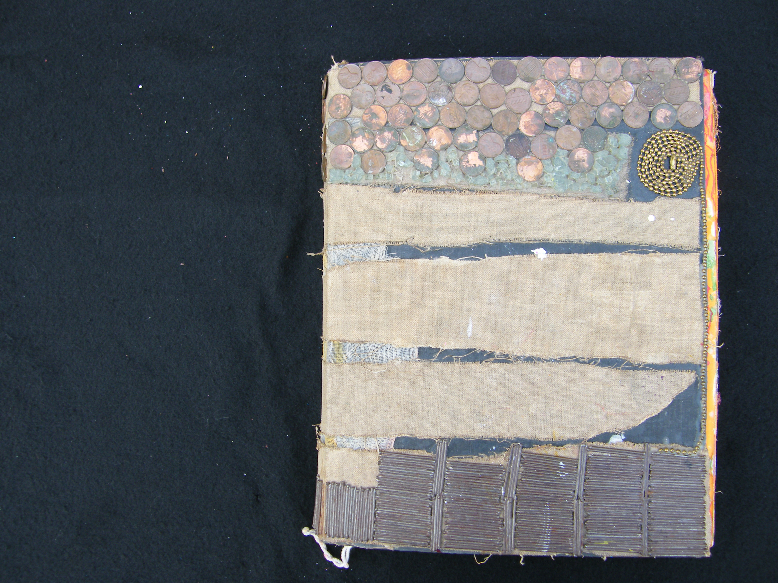 Scale: 14 ¼ inches H X 12 inches W X 2 ½ inches D