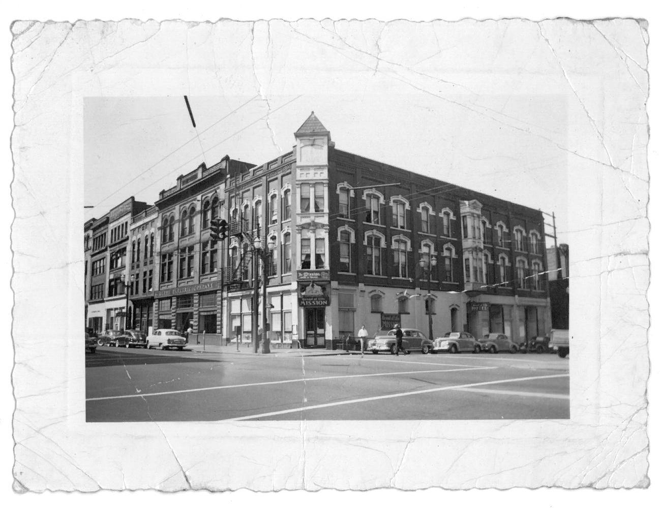 Bread of Life building in the 1940's