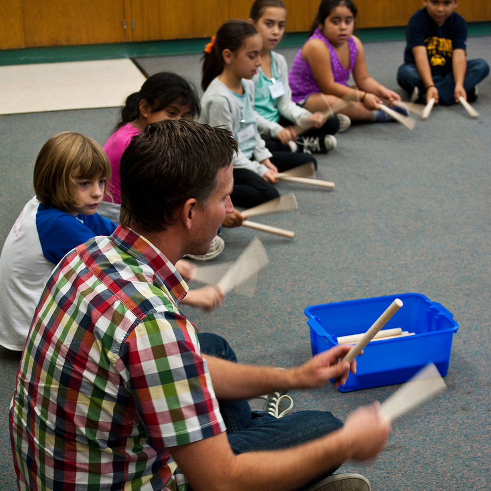 VOENA engages students at Salvador Elementary School