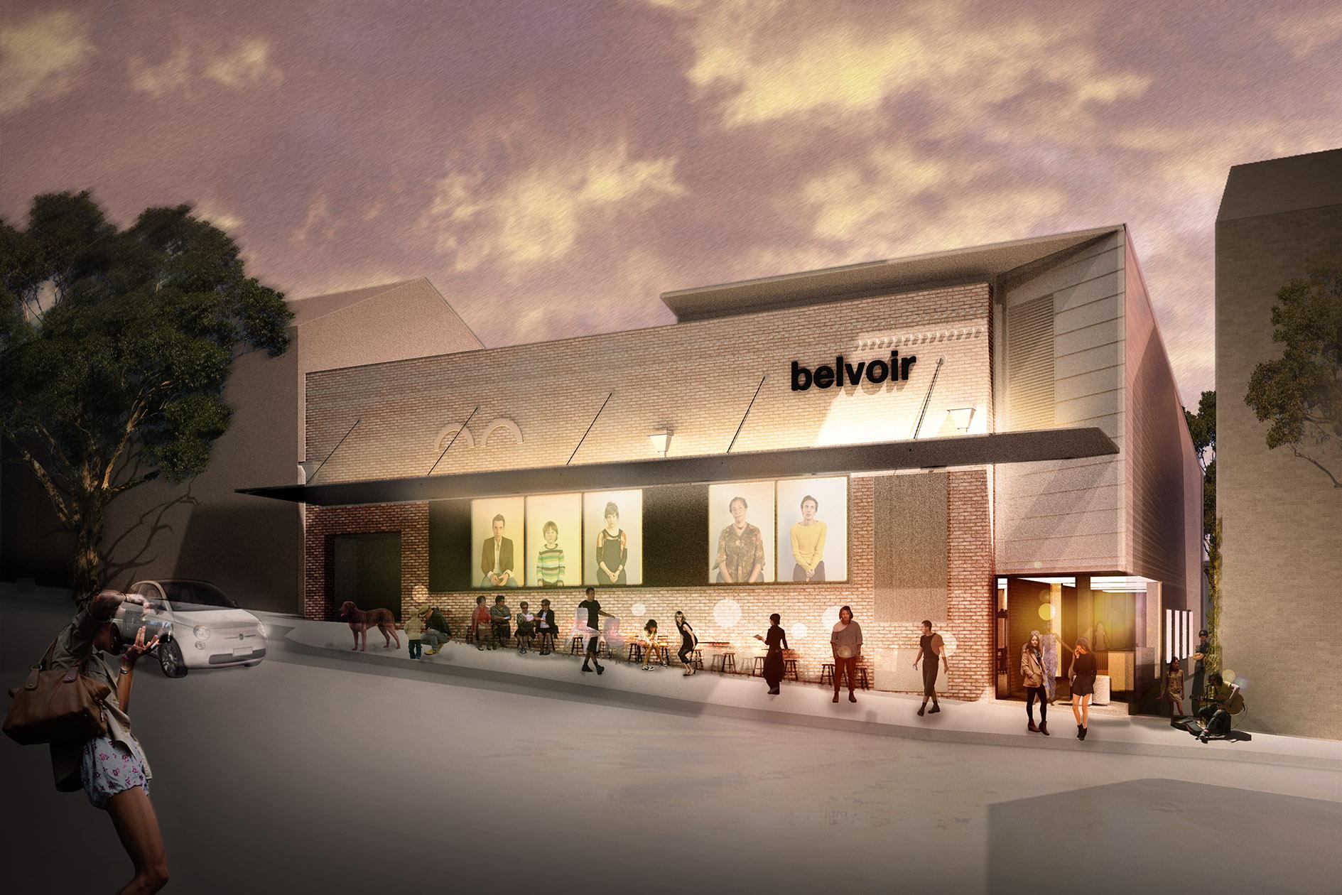 1/4<br>Belvior St Theatre Upgrades