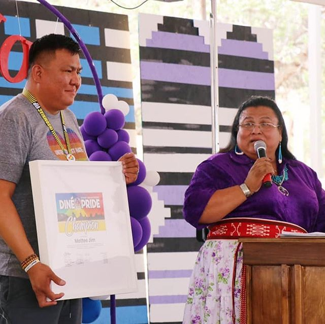 Two amazing Pride events happened this weekend: Dine Pride and Santa Fe Pride! We are so inspired by the spirit, tenacity, and love that has turned out all over New Mexico this month and proud to be part of a state that we know will continue to be a leader in the fight for LGBTQ+ equality right here at home and across the nation. @navajoequality @santafepride2019
