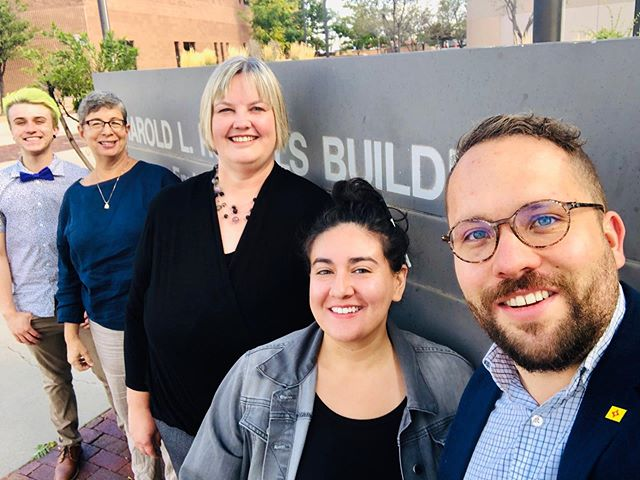 ‪Today, we delivered over 100 comments to state regulators supporting the proposed rule that would implement the Vital Records Modernization Act!  Thanks to our partners @tgrcnm and @transequalitynow, New Mexicans are one step closer to being able to confirm their gender on their birth certificates without the discriminatory requirement of surgery. We expect these rules to be fully in place by early November! 🎉  #NMLEG #NMPOL