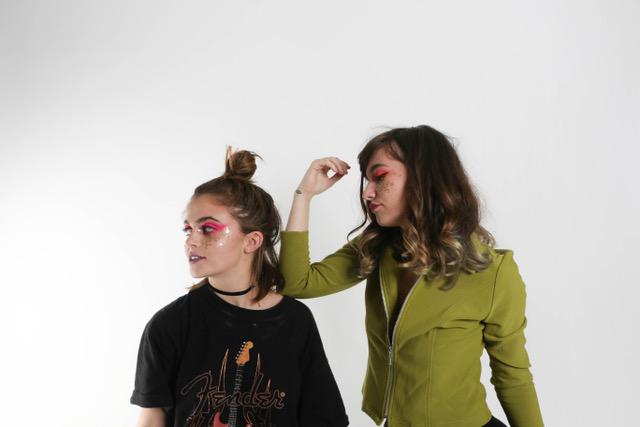 Courtney (left) & Alexa (right)