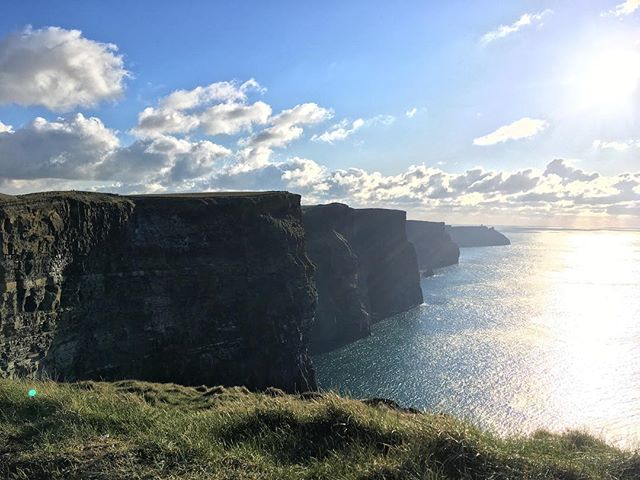 Incredible day to ride round the Cliffs of Moher! You know it's cold when the water in your bottle freezes! #CliffsOfMoher #biking #BTRBikes #BTRBadgers #BeastFromTheEast #Ireland #WildAtlanticWay
