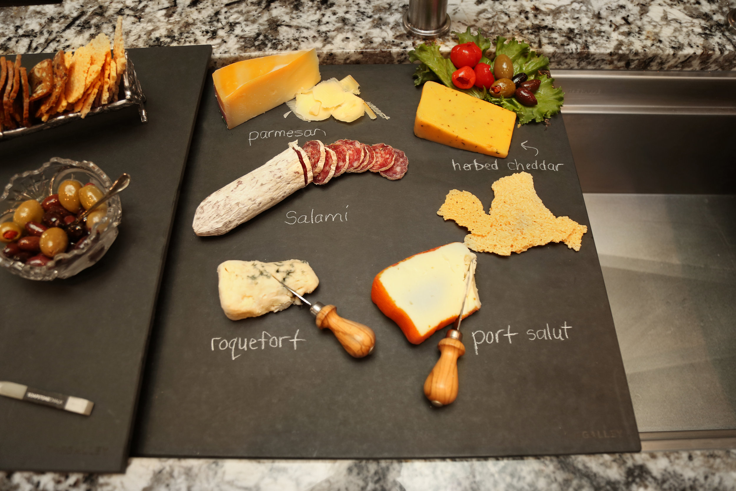 Entertain with Graphite Upper Deck and Dual Tier Cutting Board.jpg