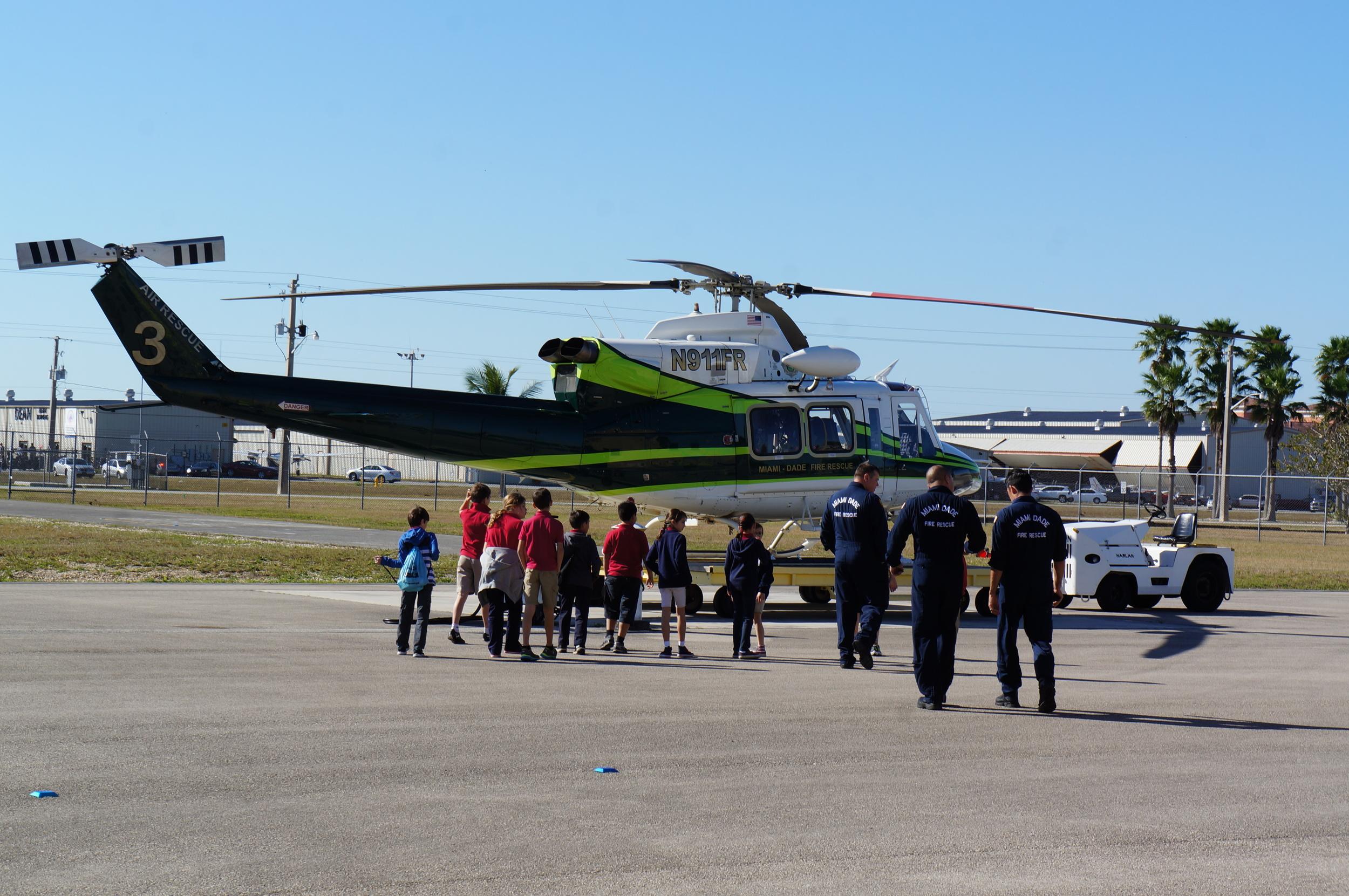 Miami Dade Fire Rescue at Tamiami Airport