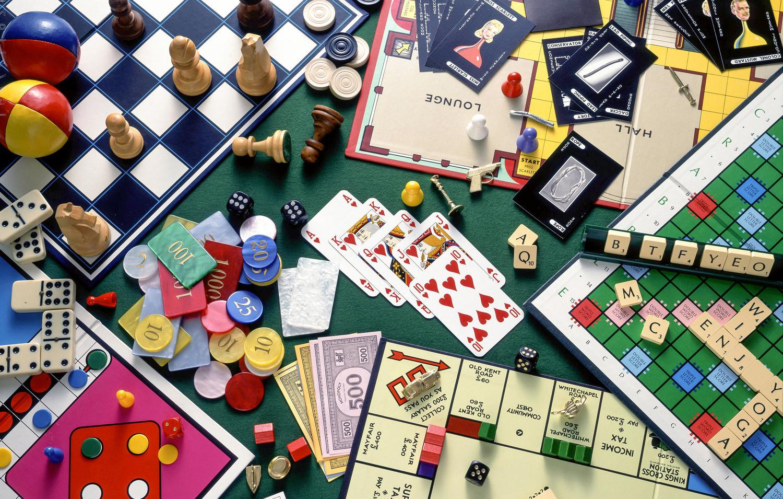 JEUX DE SOCIETE - BOARD GAMES