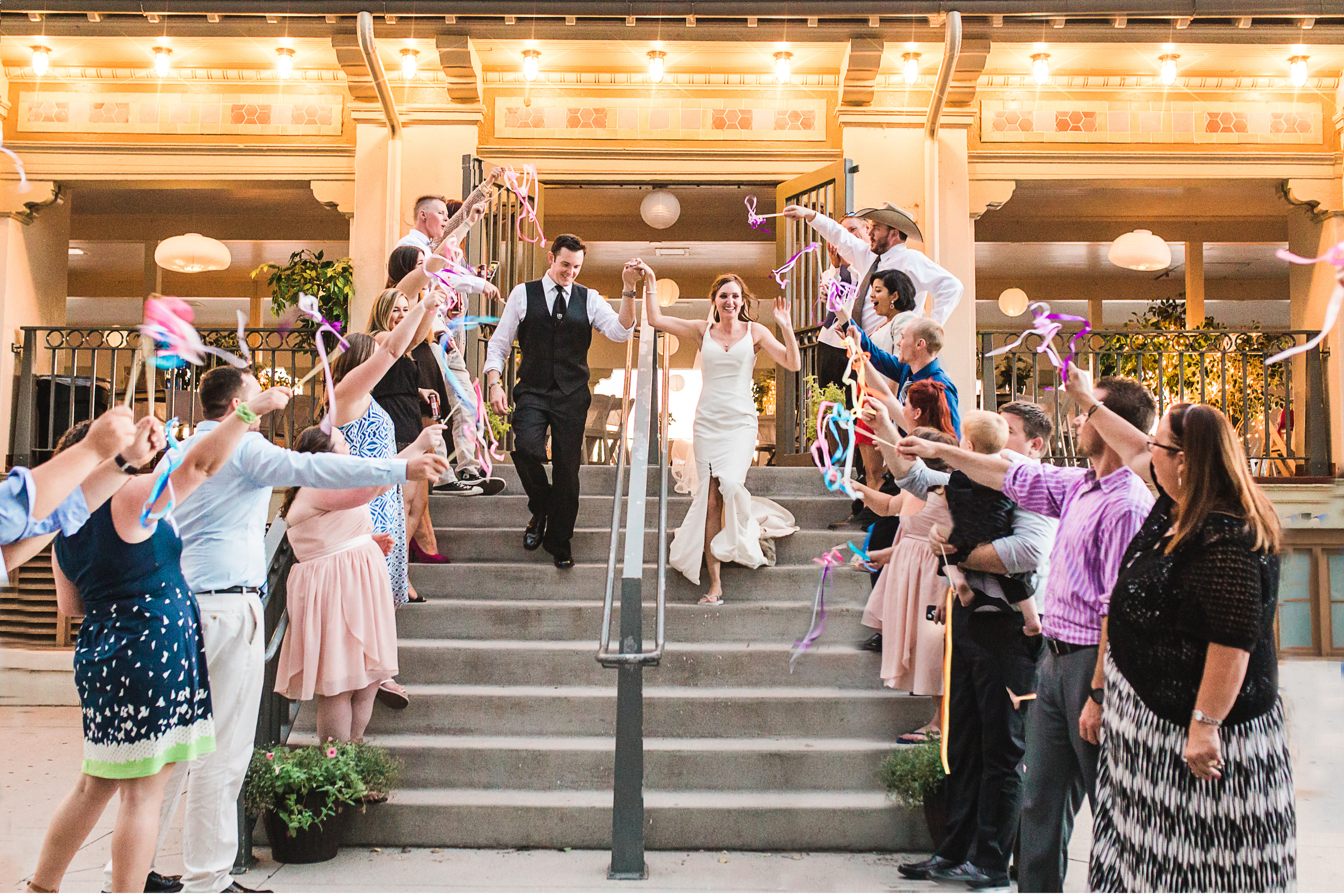 Washington Park Denver Boathouse Wedding Reception by Lily Jean Photography