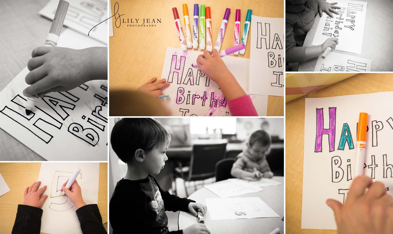 Colorado Springs child birthday documentary photo session