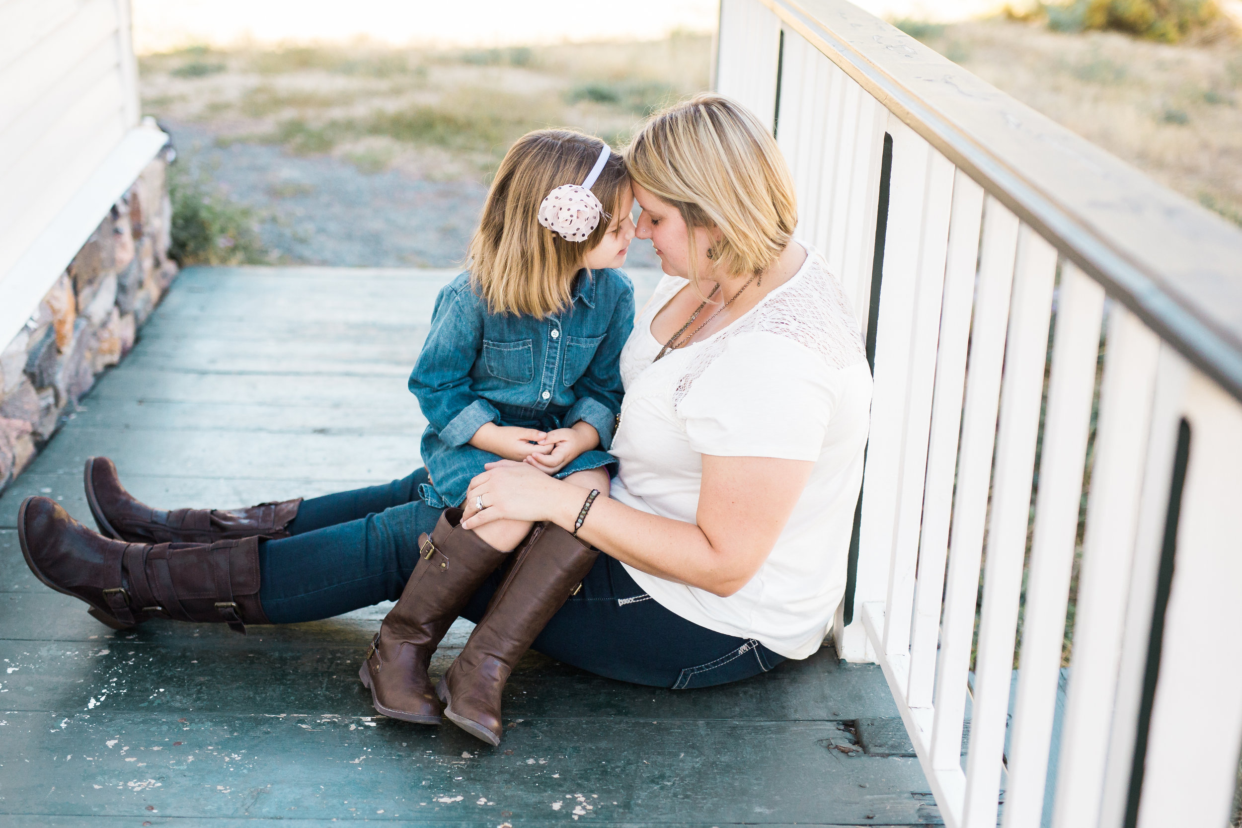 Northern Colorado Lifestyle mother and daughter photo by Lily Jean Photography
