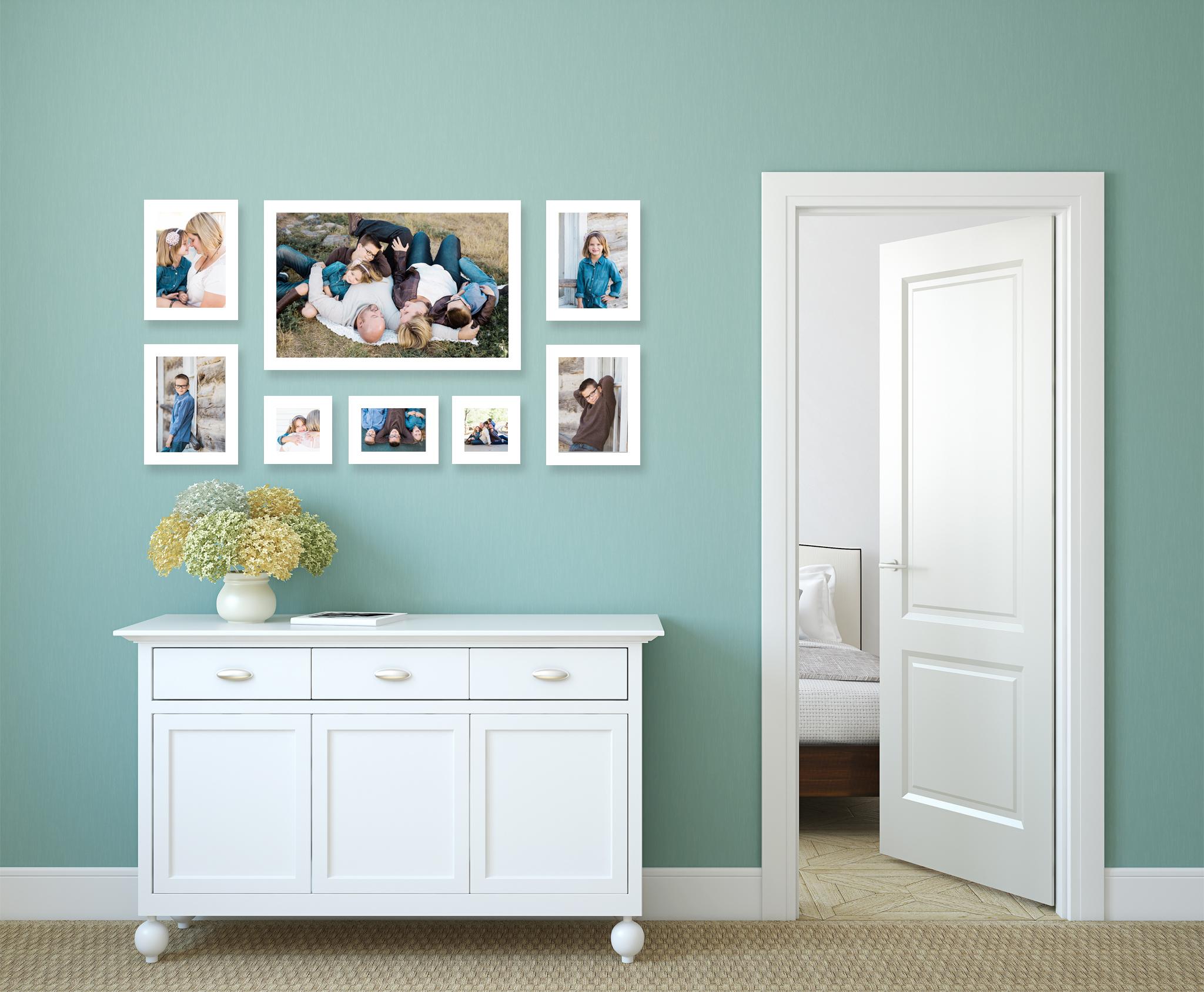photos as home decor