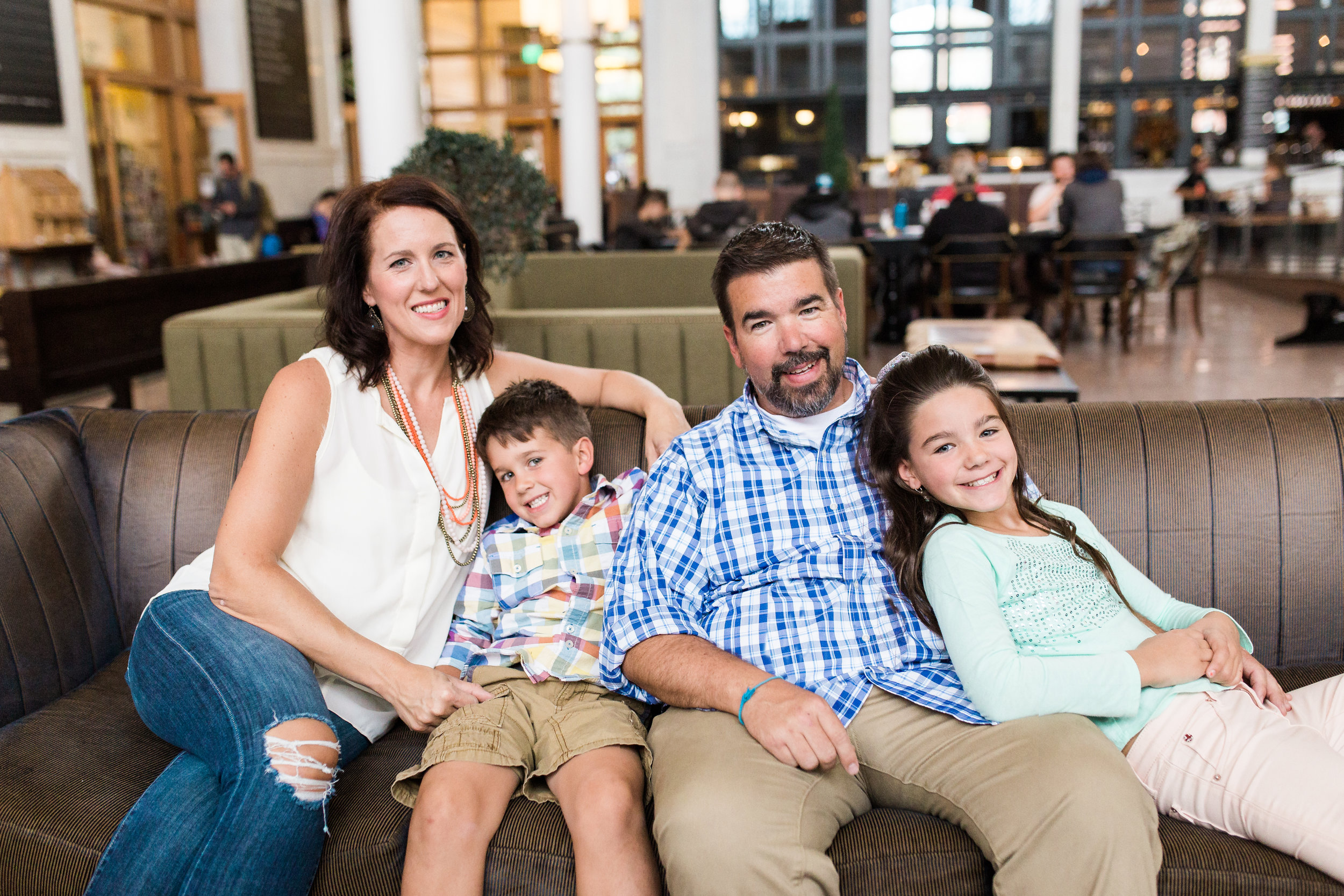 Union Station family photo by Lily Jean Photography