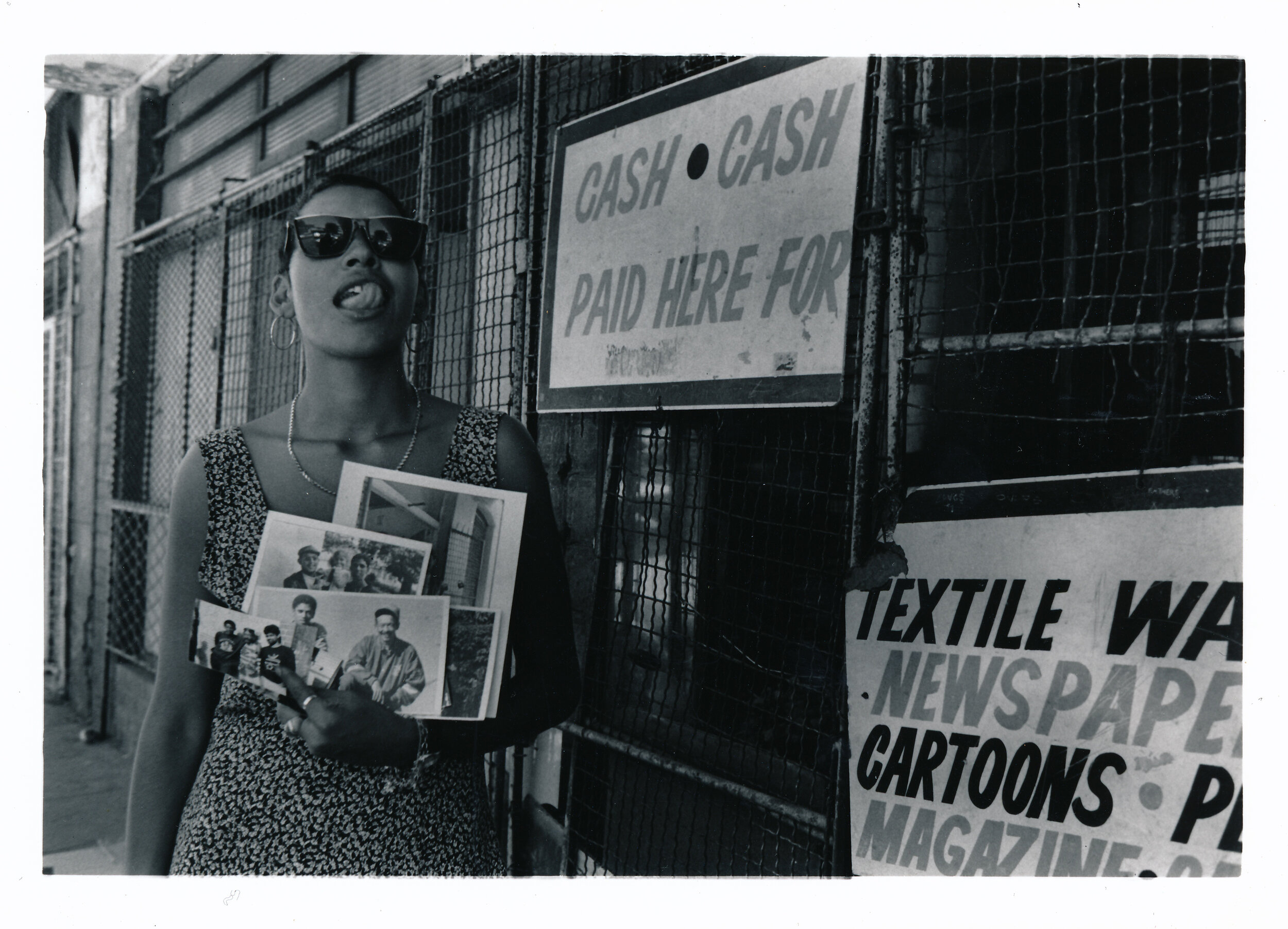 Kanala preparing to leave Durban. Image taken near the Durban Morning Market. Acorn rd. 1990. Photograph © Rafs Mayet