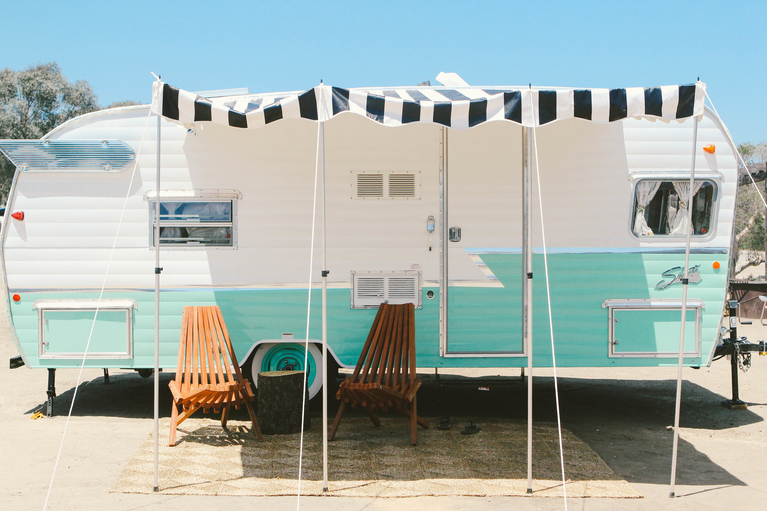 Vintage Shasta Trailer The Holidays Seafoam Green.jpg