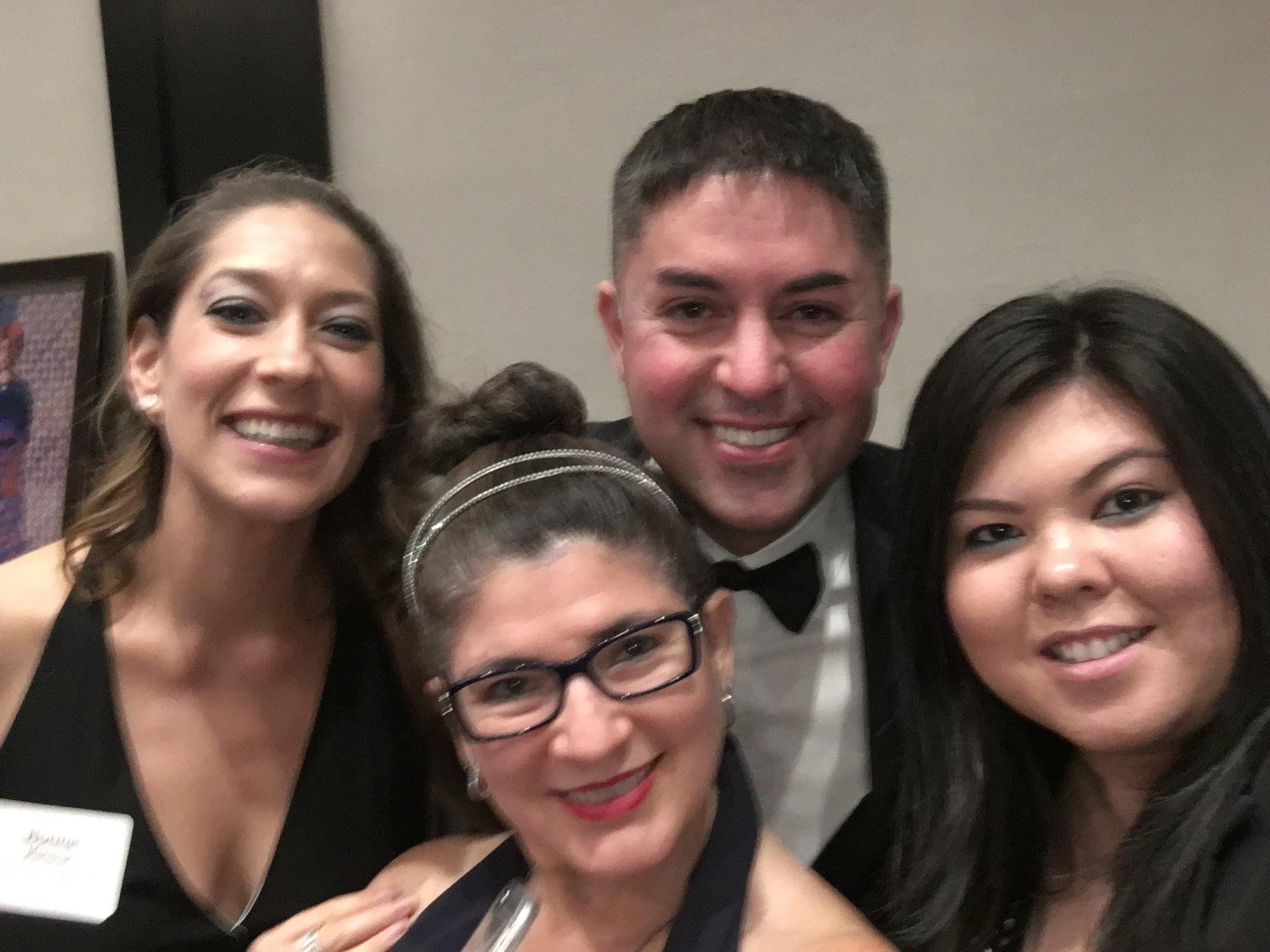 El Centro de La Raza Gala    EDI Class of 2016   Left to Right: Norma Mariscal, Carmen Marttila (2016 Program Chair) Jeremy Ochoa, Brittany Ryerson (EDI Events Manager)
