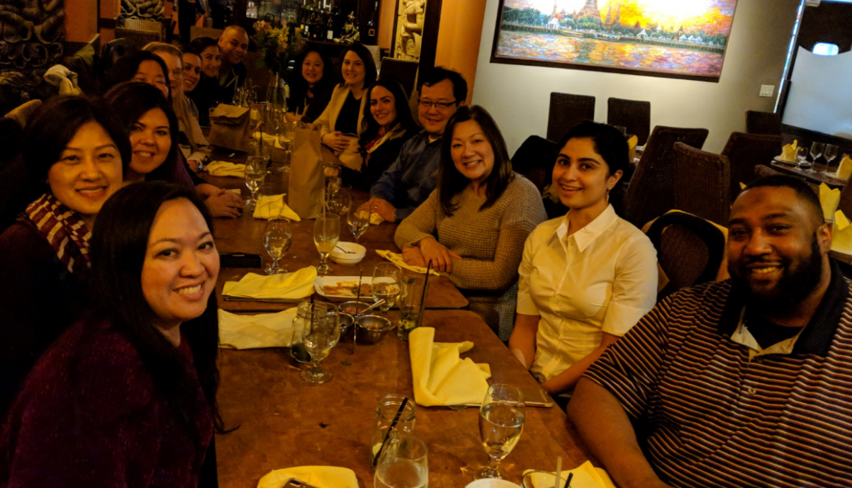 VUCA Masters and EDI Staff - Dining at Bai Pai in North Seattle