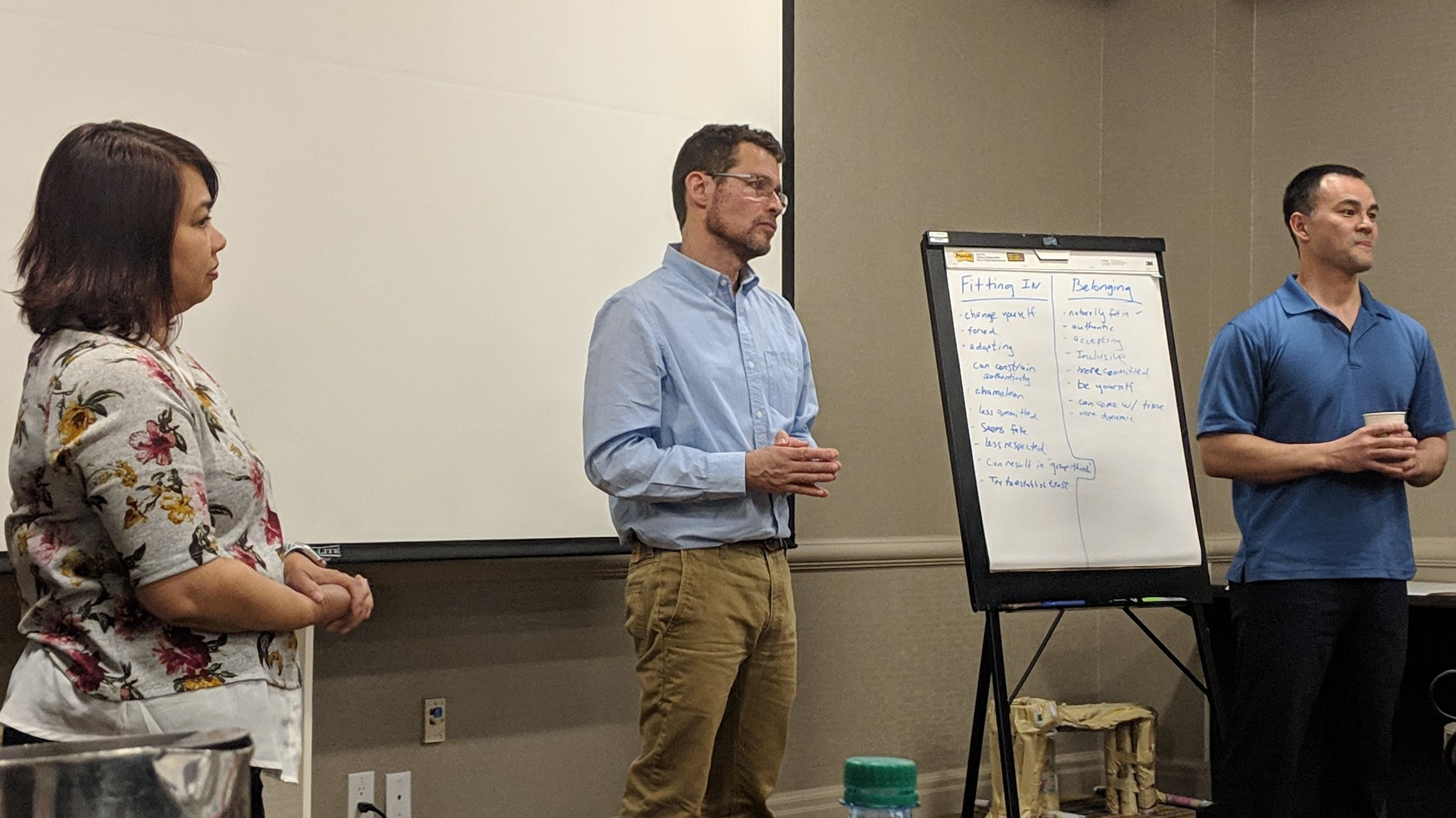 EDI alums  Melinda Pizarro, Gerald Giacchi, & Jeffrey Racicot  share stories about their own growth, development, challenges, and words of advice to the 2019 Portland class to get the most out of their EDI leadership journey experience.