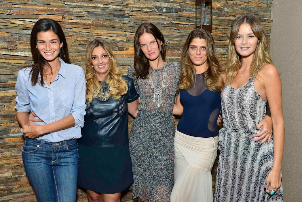 Carol Ribeiro, Renata Souza, Mercelle Bittar, Giu, Flavia Oliveira