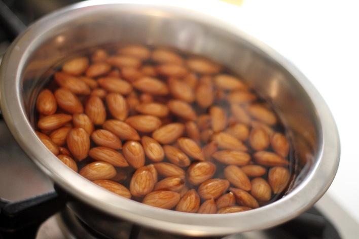 leite de amendoas