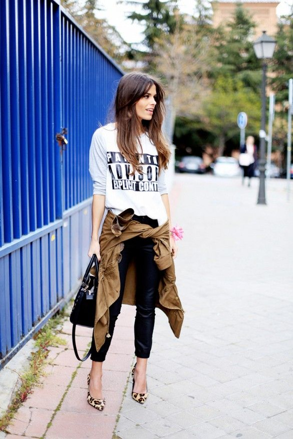 TIED TRENCH